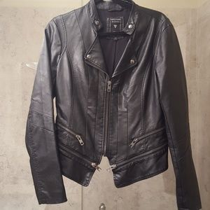 Guess Women's FAUX-LEATHER JACKET